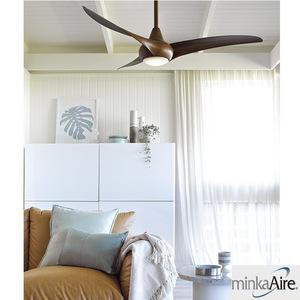 室内创意静音吊扇自带LED灯吊扇设计师风格吊扇复古吊扇