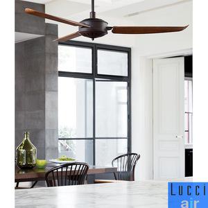 56吋欧式复古吊扇家居餐厅楼宇静音吊扇壁控镂空电机吊扇